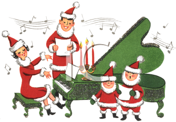 Female Singer Santa Clipart - Clipart Kid