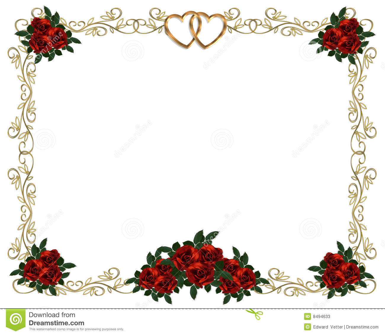 Wedding Invitation Clipart - Clipart Kid