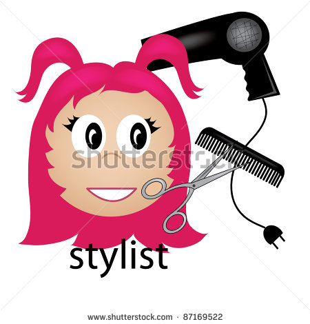 Hairdresser Clipart Stock Photo Clip Art Illustration Of A Hair