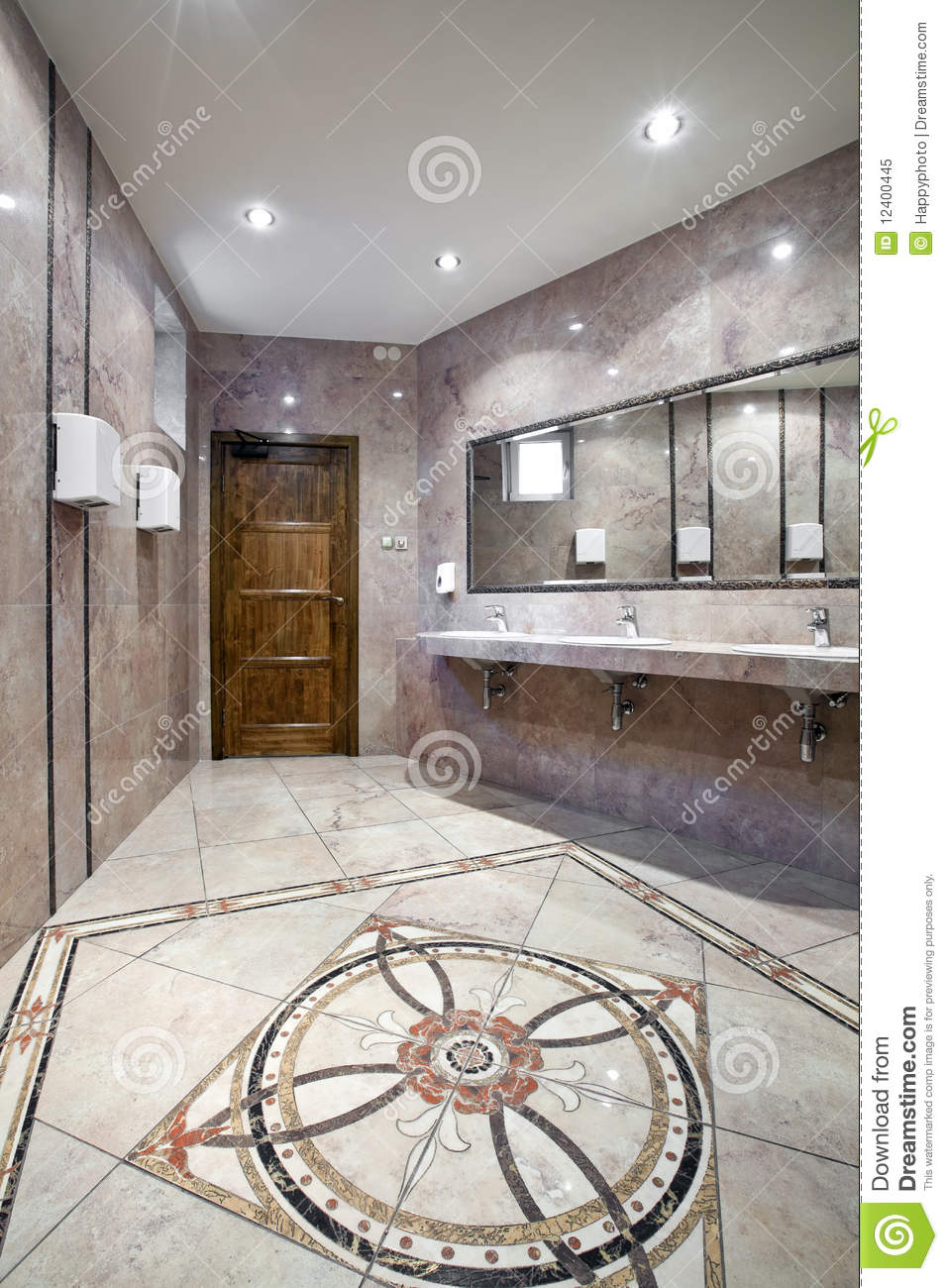 Interior Of A Luxury Public Restroom Mr No Pr No 0 626 0
