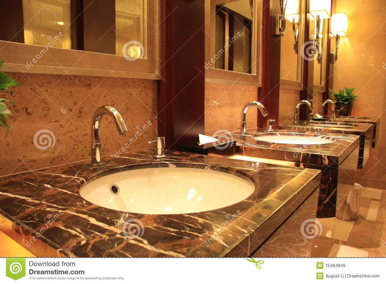 Interior Of A Luxury Public Restroom Mr No Pr No 4 1908 10