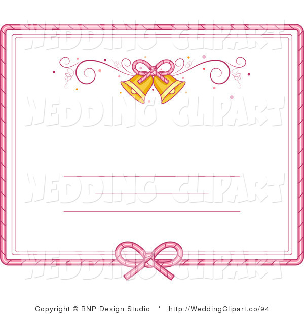 My Wedding Invite Clip Art At Clker Com: Wedding Invitation Clipart