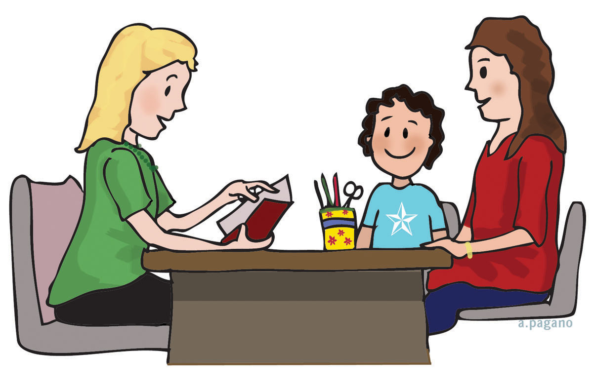 Parent Teacher Conference Clipart   Cliparthut   Free Clipart