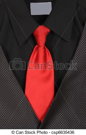 Stock Photo   Closeup Of Suit And Tie   Stock Image Images Royalty