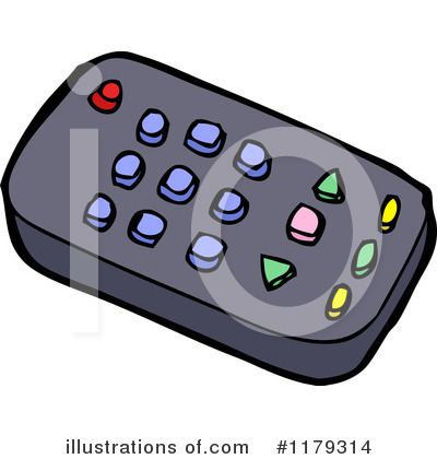 Tv Remote Control Clip Art