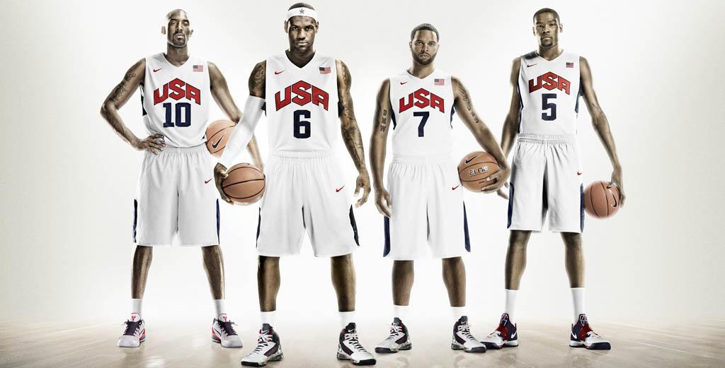 Uniforme De La Selecci N De Baloncesto De Estados Unidos Para Los