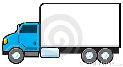 Ups Delivery Truck Clipart Blue Delivery Truck 20656339 Jpg