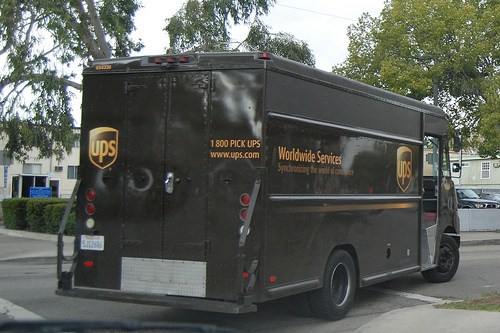 Ups Delivery Truck  Ups  Delivery Truck