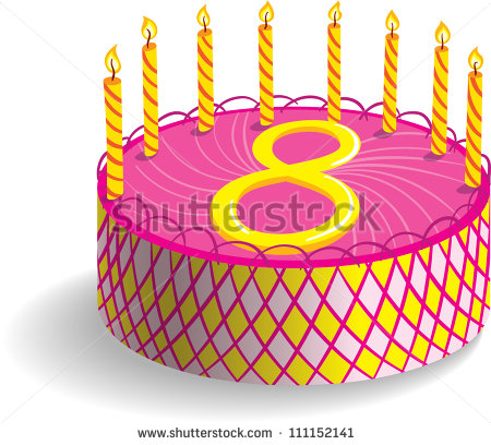 8th Birthday Stock Photos Illustrations And Vector Art