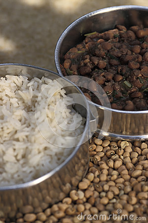 Brazilian Food  Rice And Beans  Arroz E Feij O   Representing The