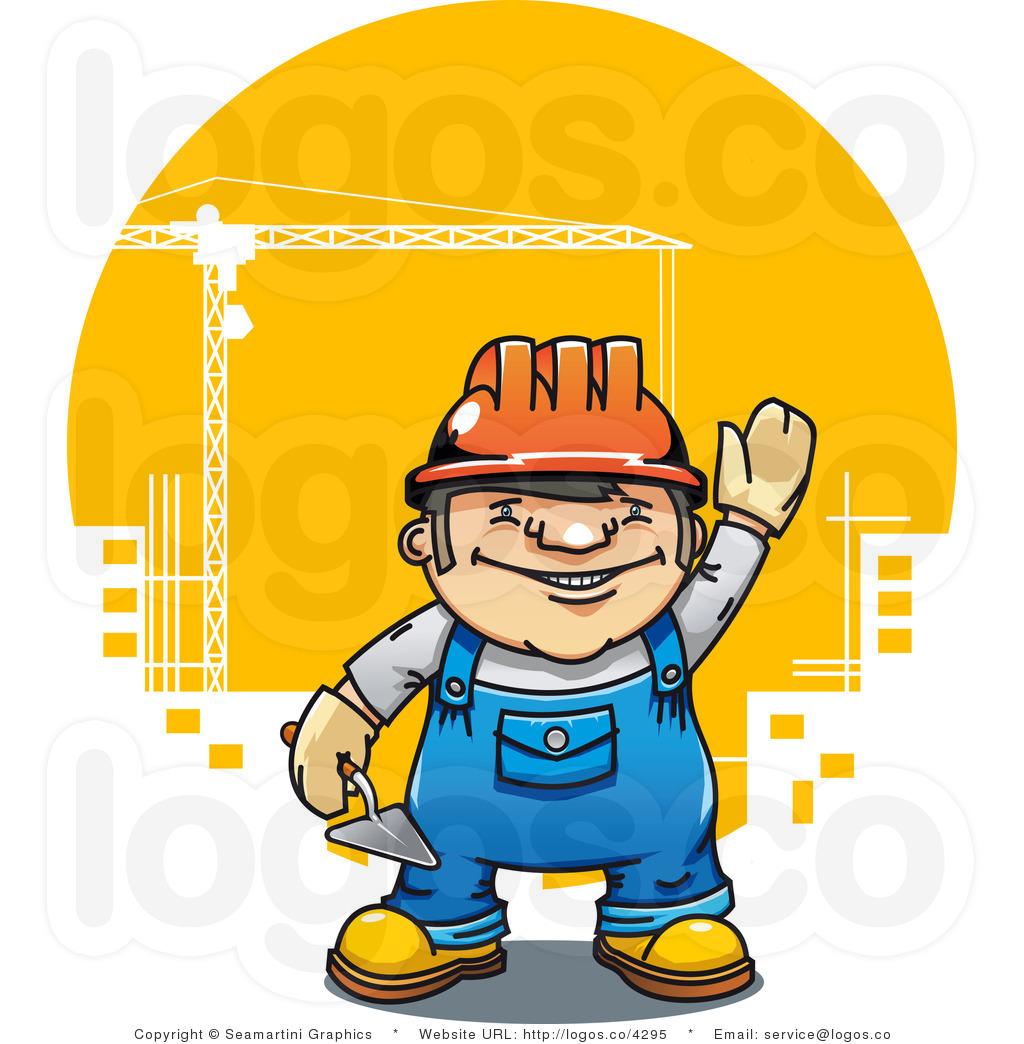 Cartoon Construction Worker Clipart Co Worker Clipart