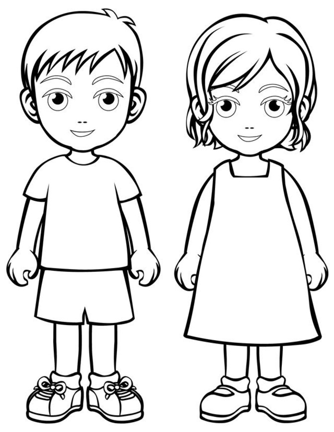 Children Coloring Pages   Coloring Town