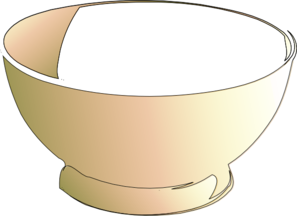Clip Art Empty Bowls Project