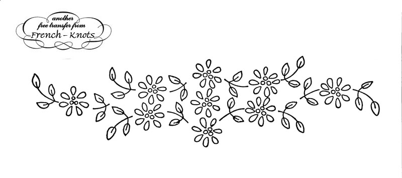 June Flowers Black And White Clipart