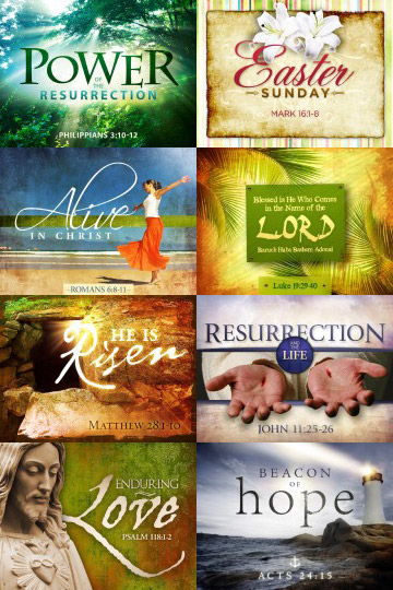 View More Easter Sunday Resurrection Powerpoint Templates
