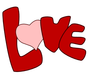 Word Love Clip Art 2014 Clipartpanda Com About Terms