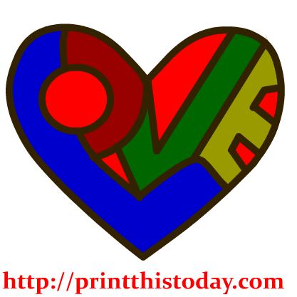 Word Love Clip Art The Word Love Clipart