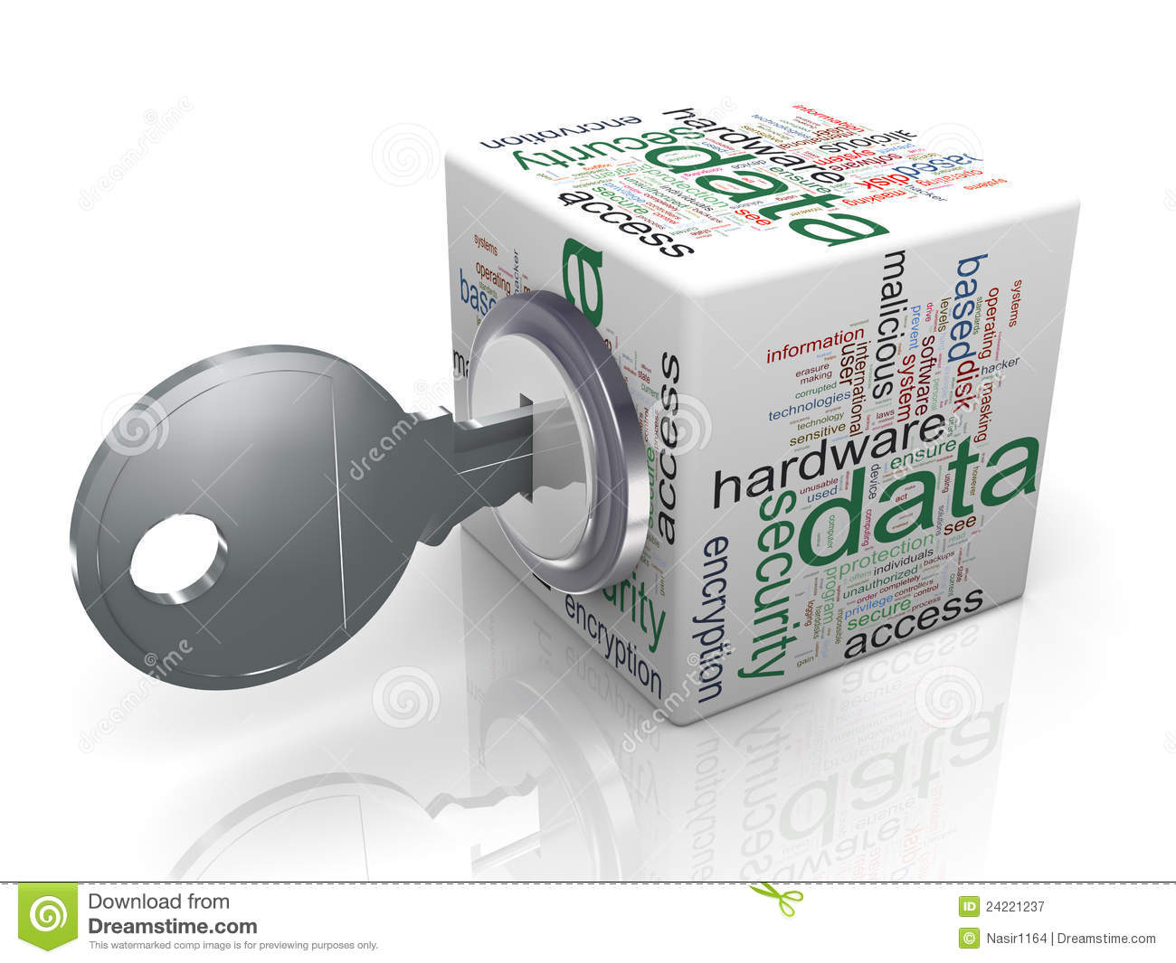 Concept Of Data Protection Royalty Free Stock Photography   Image