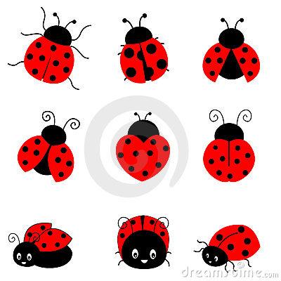 Cute Cartoon Ladybug Clipart - Clipart Kid