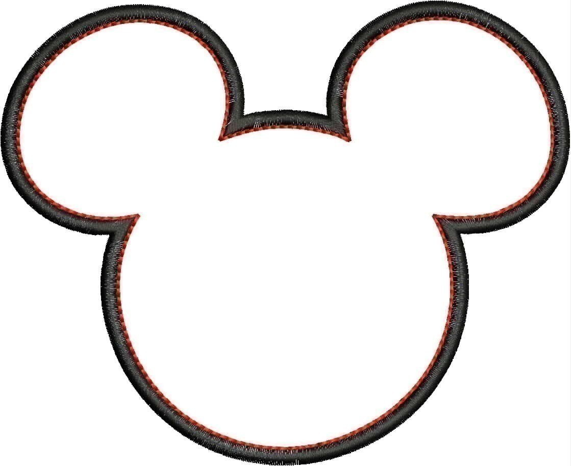 Minnie Mouse Clip Art Black And White Birthday Clip Art Mickey Mouse
