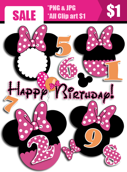 Pink Minnie Mouse Clip Art   Clipart Panda   Free Clipart Images