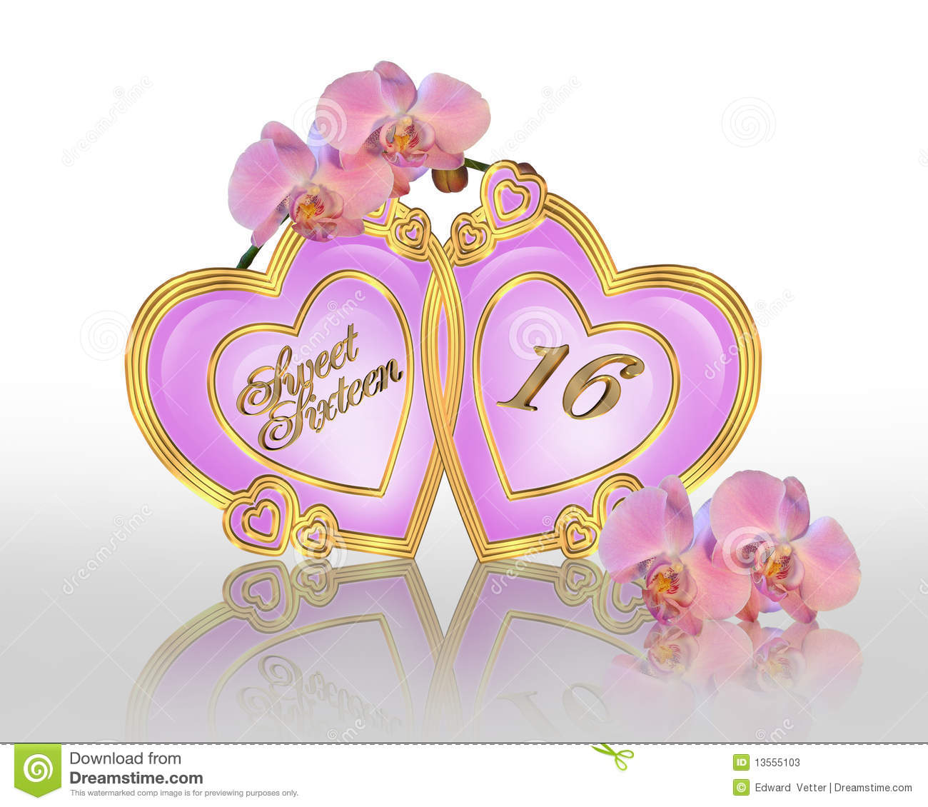 Royalty Free Rf Sweet Sixteen Clipart Homeactiveus