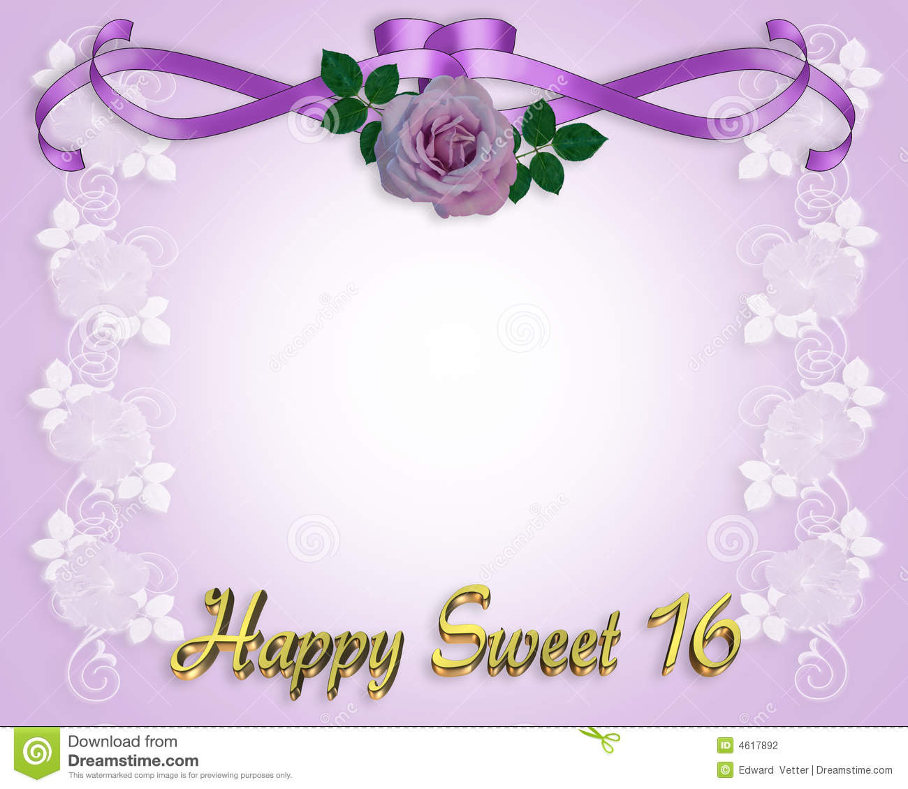 Sweet 16 Birthday Background Clipart - Clipart Kid