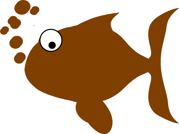 Brown Fish Clipart - Clipart Kid