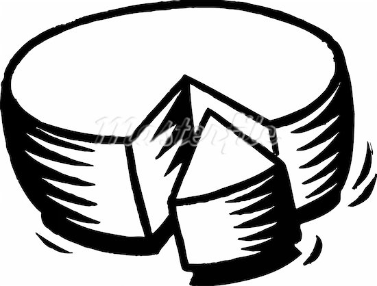 Cheese Black And White Clipart Clipart Suggest