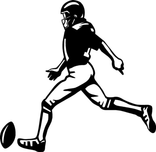 Football Kicker Clipart   Clipart Best