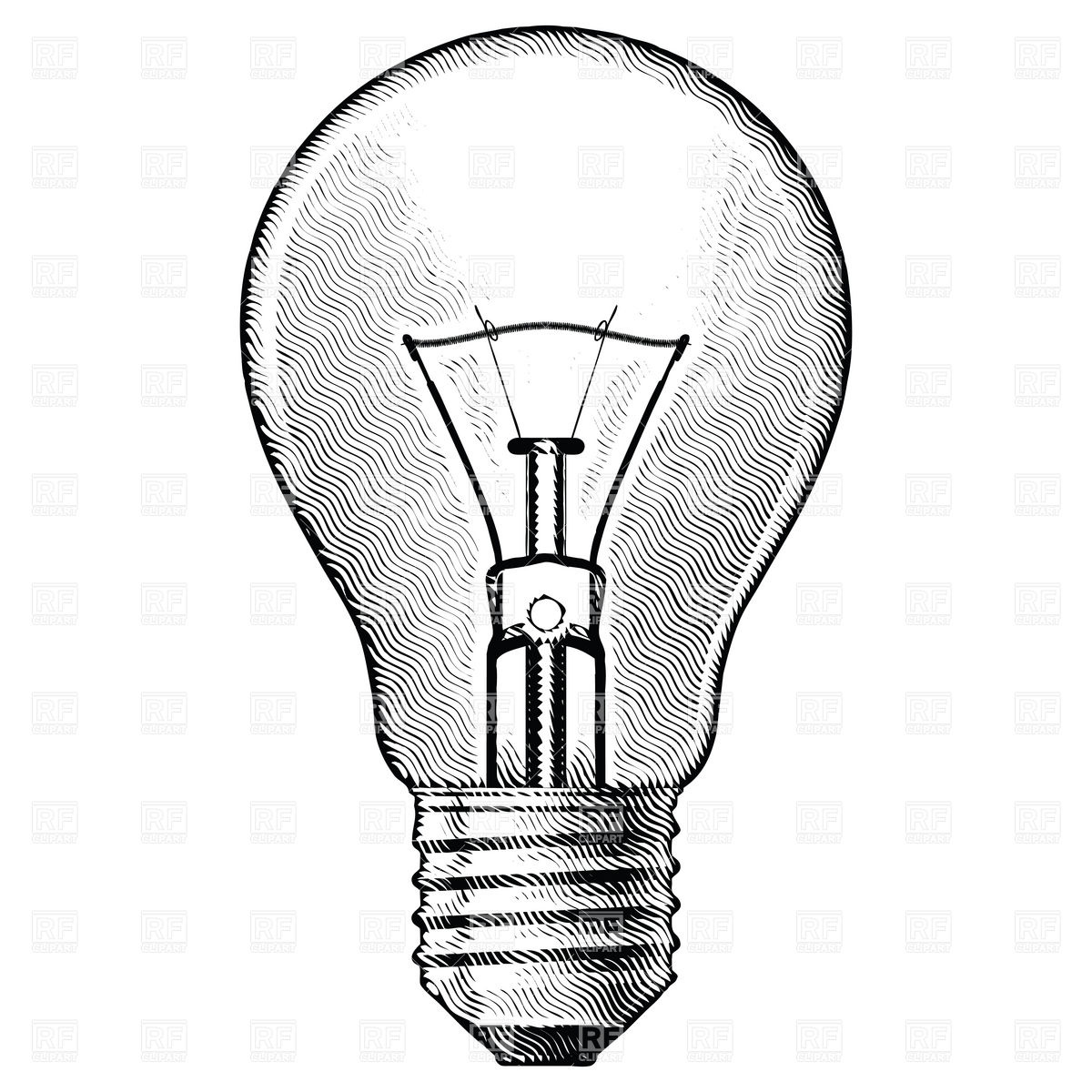 Light Bulb 7374 Technology Download Royalty Free Vector Clip Art