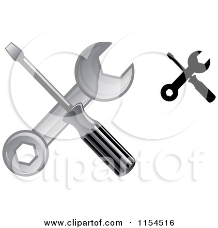 Royalty Free Illustrations Of Wrenches By Seamartini Graphics  1