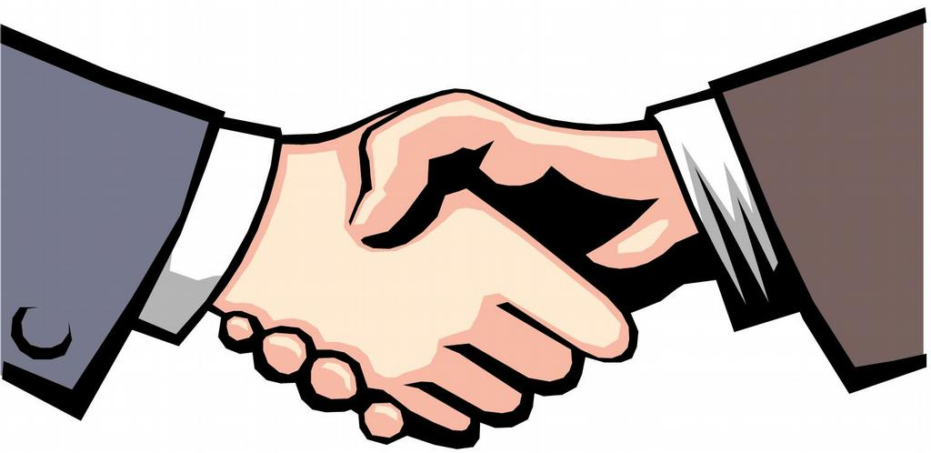 Shaking Hands Clipart - Clipart Suggest