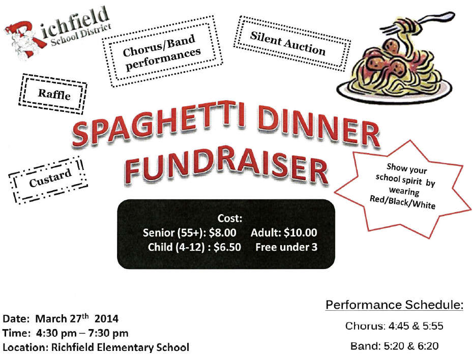 Spaghetti Dinner Clip Art Quotes
