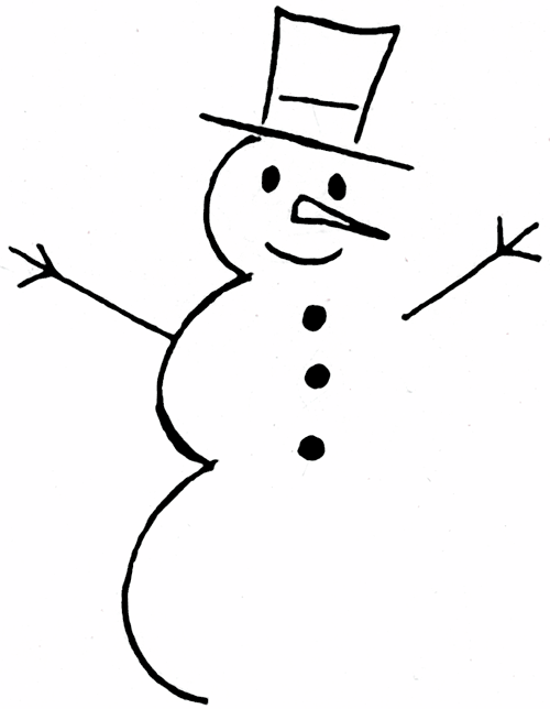 Cool Snowman Clipart Clipart Suggest