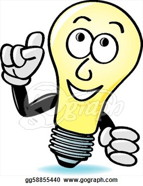 Thinking Light Bulb Clip Art   Clipart Panda   Free Clipart Images