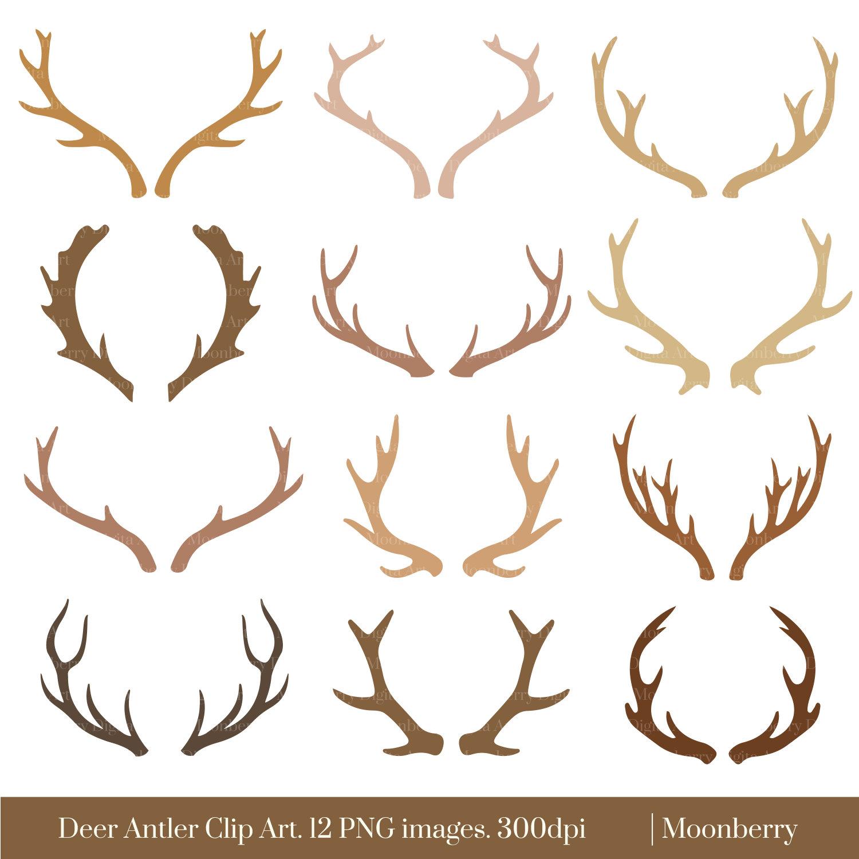 Deer Antlers Clipart - Clipart Kid