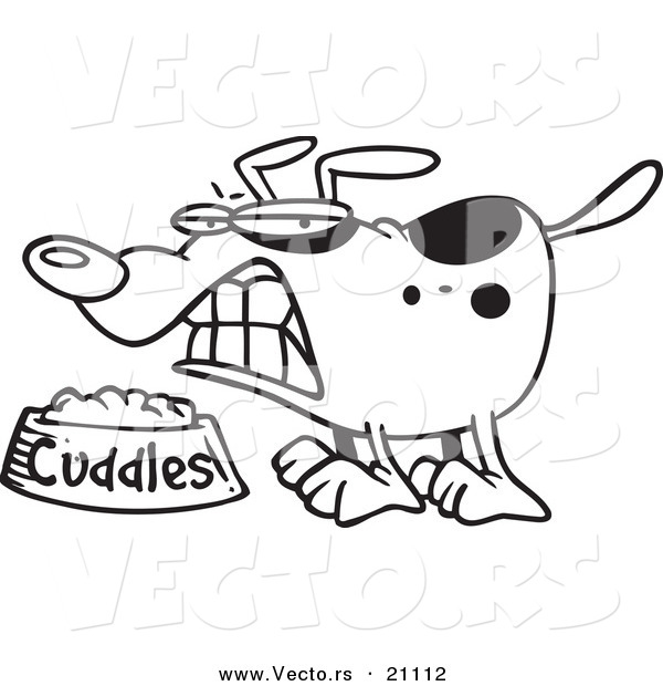 Dog Bowl Cartoon Clipart Wet Dog Food In A With