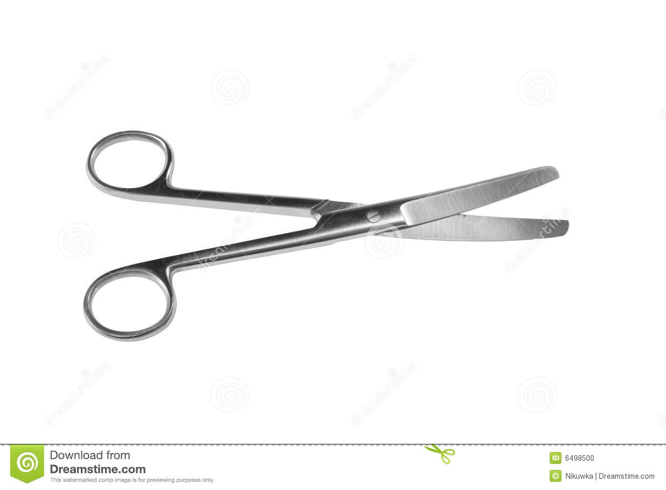 Medical Scissors Stock Photo   Image  6498500