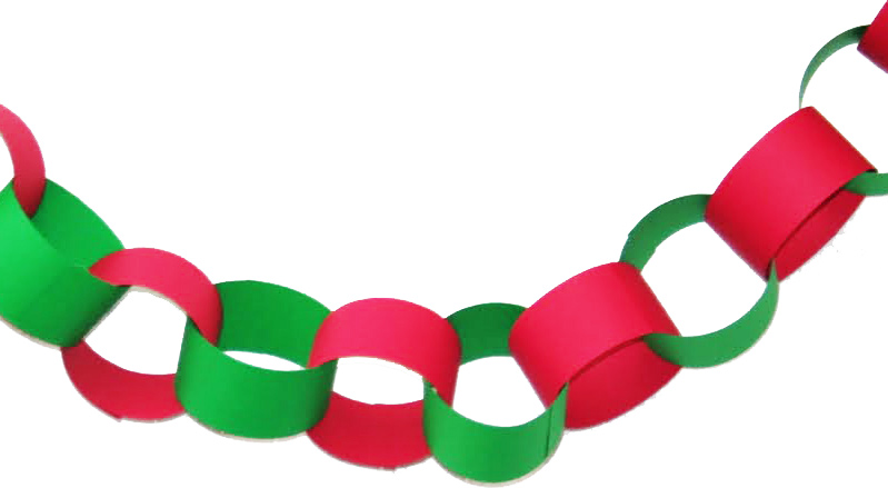 Image result for paper chain link