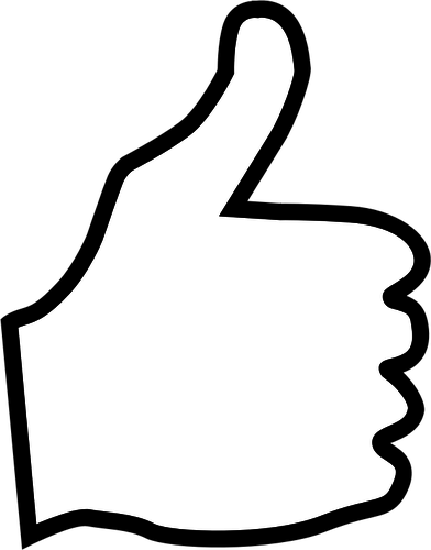 Thumbs Up Clipart Clipart Suggest