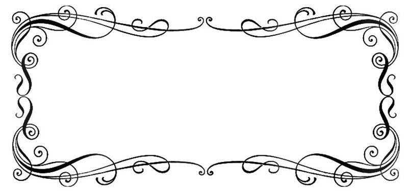 Line Art Borders : Professional borders design clipart suggest