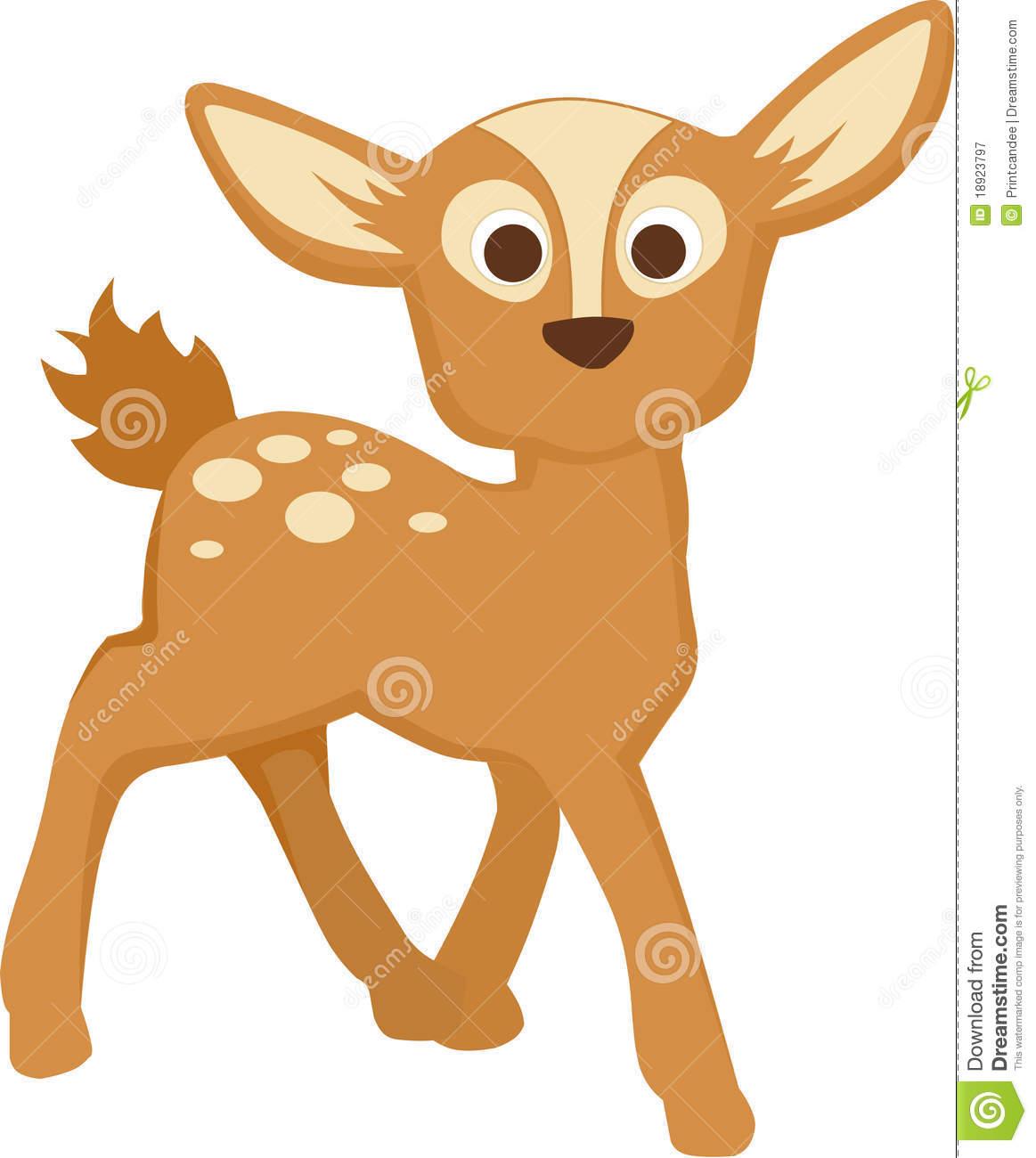 Cute Baby Deer Clipart - Clipart Kid