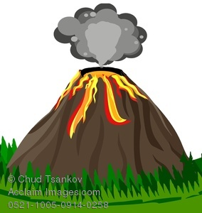 Clip Art Clipart Volcano clip art volcano erupting clipart kid image of smoke above an volcano