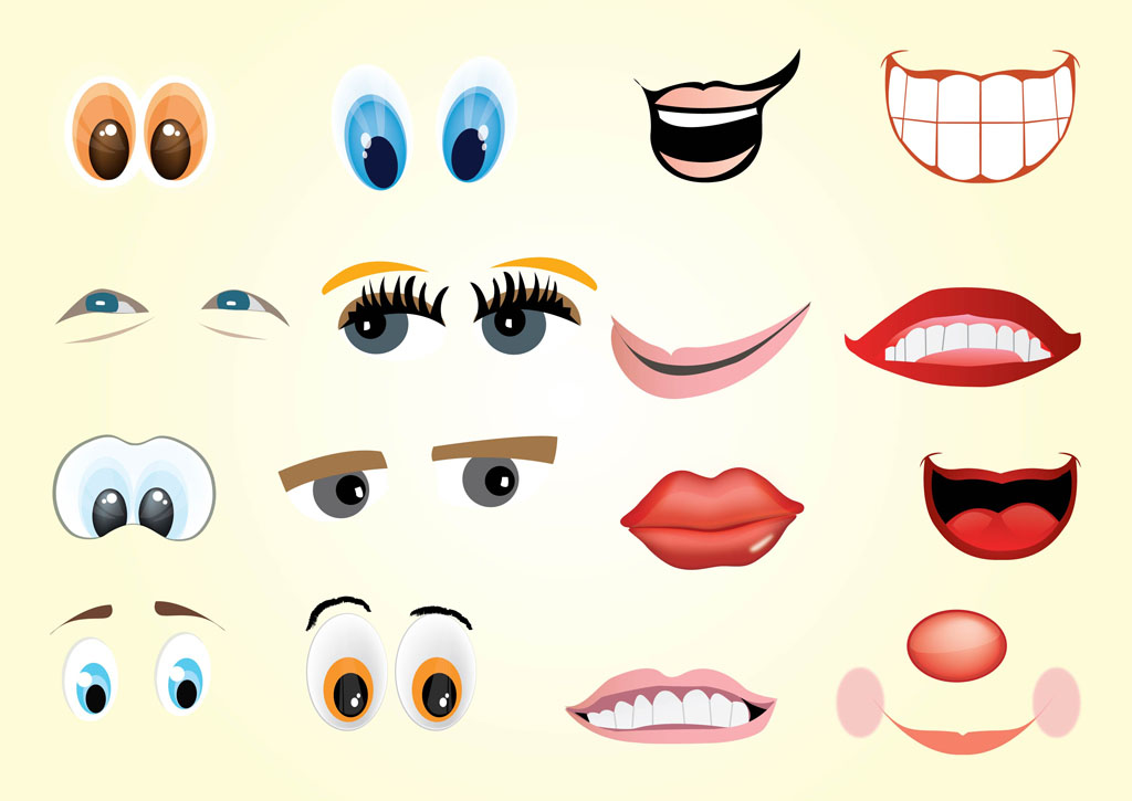 Cartoon Mouth Expressions Clipart - Clipart Suggest