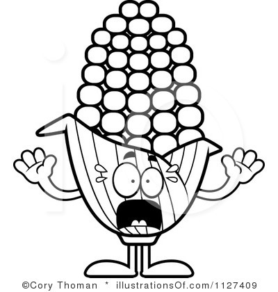 Scarecrow Black And White Clipart - Clipart Kid