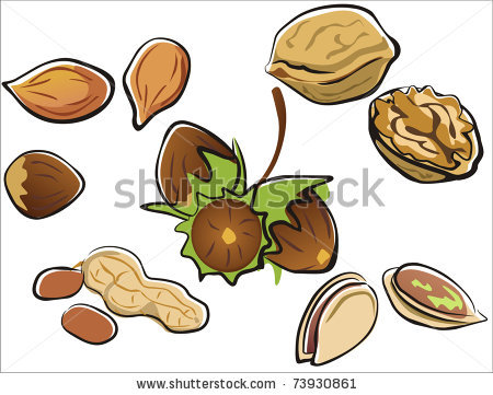 Almond Nut Free Logo Clipart
