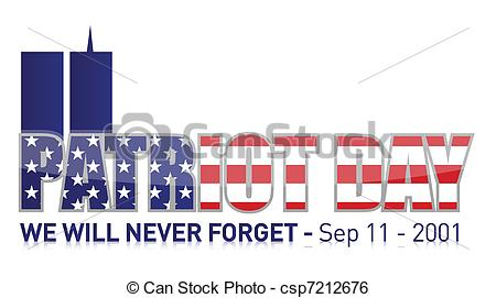 Art Vector Of Patriot Day September 11 Csp7212676   Search Clipart