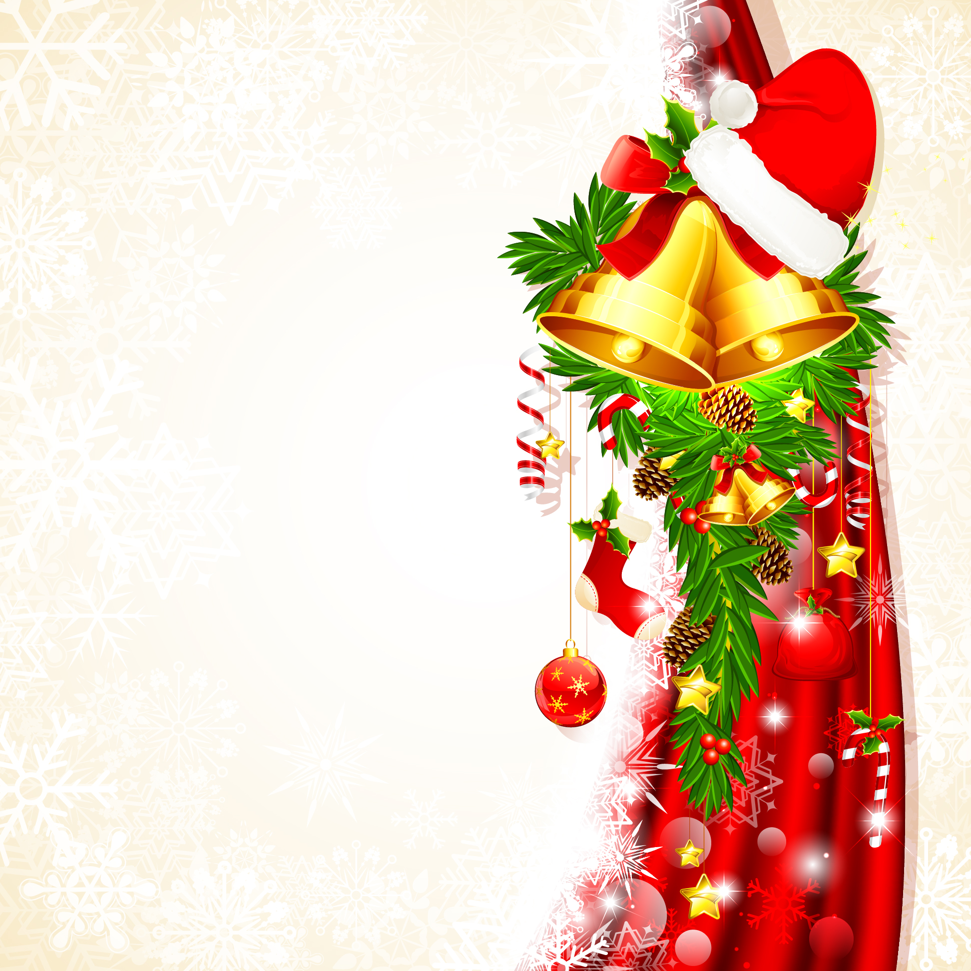 Christmas Background Clipart - Clipart Kid