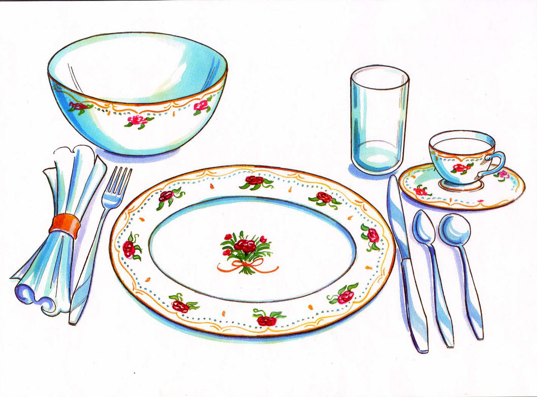 Clip Art Set The Table Set The Table Clipart #7BogVF ...